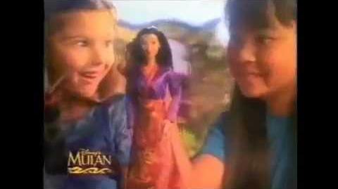 Mulan Secret Hero & Matchmaker Magic MATTEL Dolls Commercial