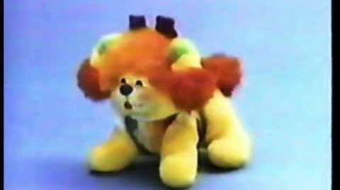 Mattel Puppy Brite Commercial 1985