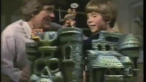 Castle Grayskull 1981 Mattel Masters Of The Universe Commercial