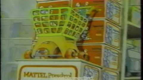1981 Mattel Tuff Stuff Shopping Basket Commercial