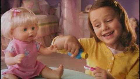 Little Mommy™ Baby Ah-Choo™ Doll Commercial