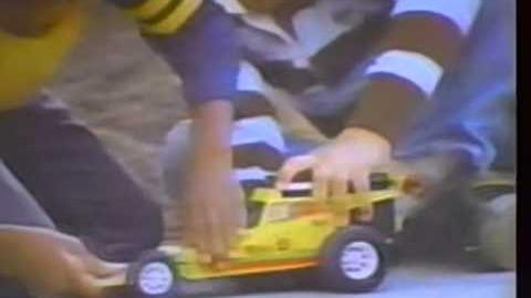 1976 Mattel Power Shifters Quick Change Machine toy TV commercial