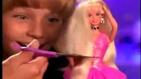 Cut and Style Barbie Commercial
