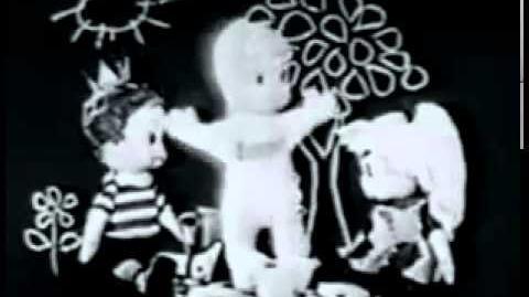 Vintage Mattel Talking Casper Doll Commercial