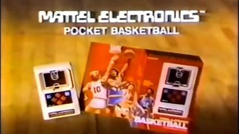Mattel Electronics Basketball Commercial (1978)