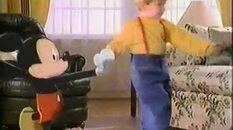 1992 Mattel Disney Easy Touch Tape Player Commercial