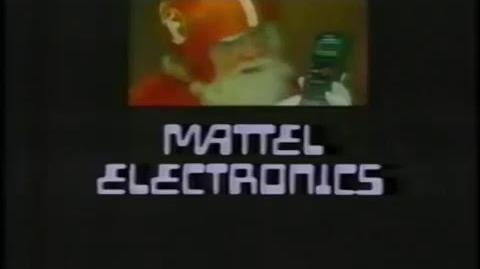 Mattel 1980 electronic handhelds game commercial
