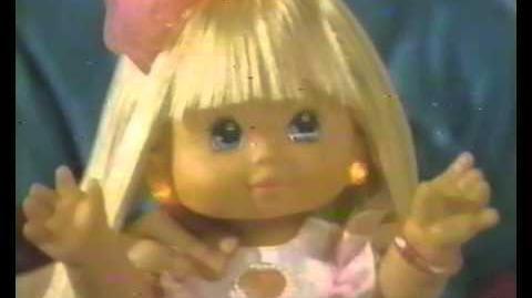 PJ Sparkles Doll Commercial