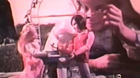 1975 Mattel Michael and Melinda Young Sweethearts dolls TV commercial