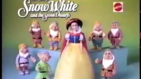Snow White MATTEL 1994 Doll Commercial