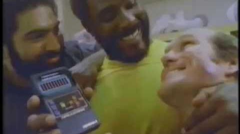 Terry Bradshaw Franco Harris & Mean Joe Greene 1980 Mattel Football Commercial