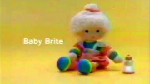 Mattel Baby Brite Doll Commercial 1985