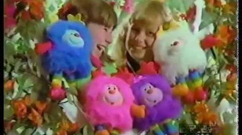 Mattel Rainbow Brite Girl Sprites Commercial