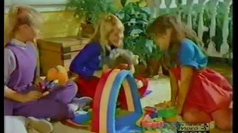 Mattel Rainbow Brite Color Cottage Commercial