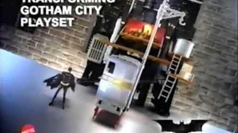Batman Begins - Transforming Gotham City Set - Batmobile - Toy Commercial - Mattel