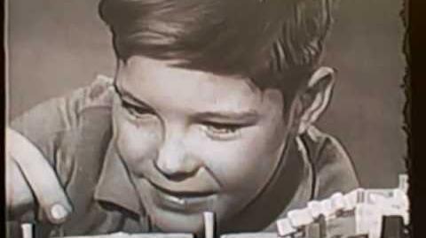 1960's Mattel High Gear game TV commercial