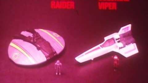 Mattel BattleStar Galactica Viper and Cylon Raider Commercial