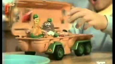 Mattel Food Fighter Commercial