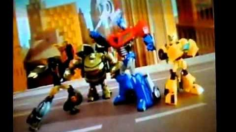 Transformers Animated - Toy TV Commercial - TV Spot - Mattel