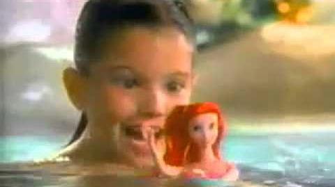 Little Mermaid MATTEL Swimming Ariel Doll Commercial