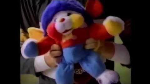 80's mattel popples sports balls commercial