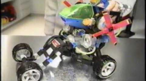 Construx - Deluxe Builder - Mattel Commercial (1996)