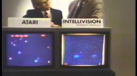 Mattel Electronics Intellivision space games commercial feat. George Plimpton