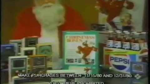 1980 Mattel Electronics Christmas Commercial