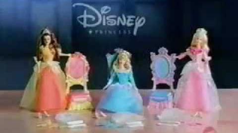 Disney Princess MATTEL Fantasy Fashions Commercial