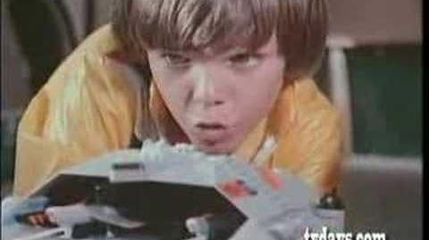 Battlestar Galactica Mattel TV commercial Viper launch 1978