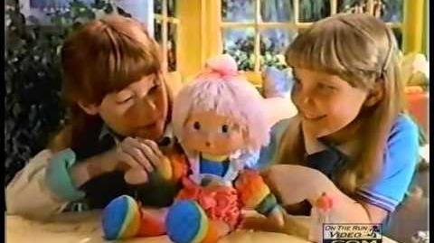 """Mattel 16"""" Rainbow Brite Baby Brite Commercial"""