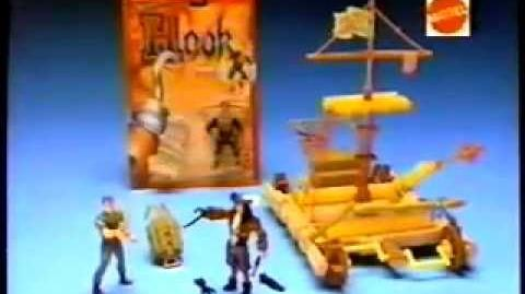 Hook - Cool Action Figures - TV Toy Commercial - TV Spot - TV Ad - Mattel