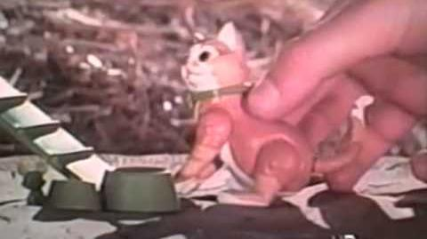 1975 Mattel Sunshine Family Pets and Their World set TV commercial