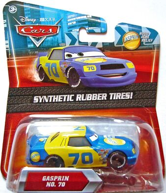 Gasprin rubber tires final lap kmart