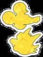 Golden scratch