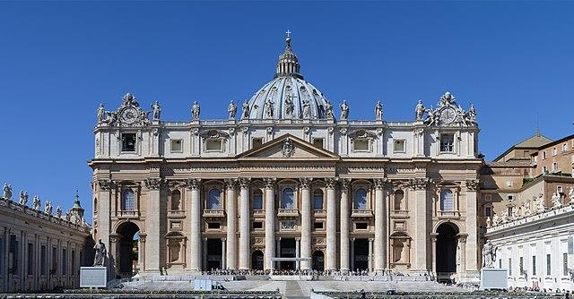 File:Basilica di San Pietro in Vaticano-1a.jpg
