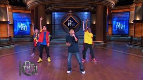 MattyB Performs on Dr