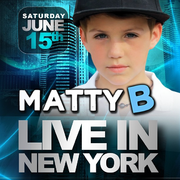 MattyB Live In New York