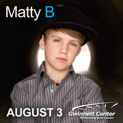 MattyB Live at Gwinnett Arena