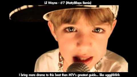 7 year old raps - 6'7' ( by MattyBRaps)