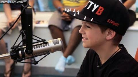 MattyB Visits Seacrest Studios Interview On Air with Wendy Threatt