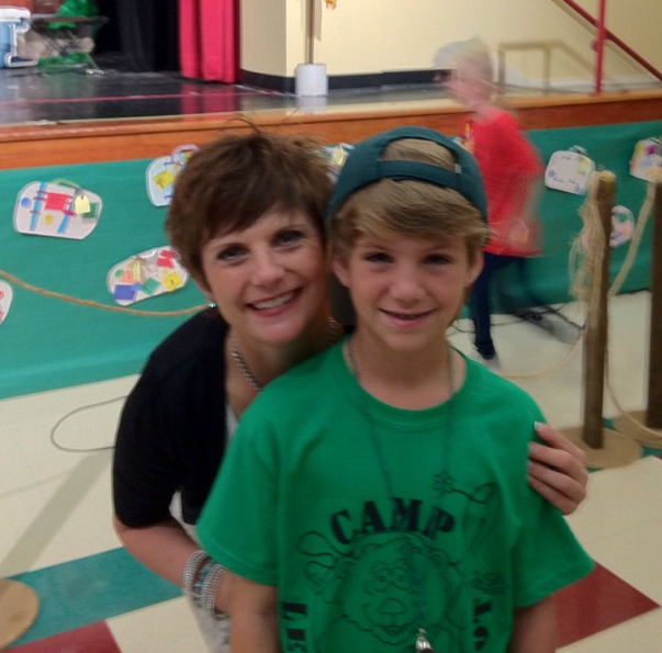Photo of MattyB  & his  Mother  Tawny Morris