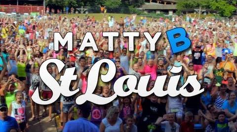 MattyB LIVE at Six Flags St Louis