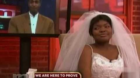Maury WEDDING GOWN LADY GETS OWNED!!!