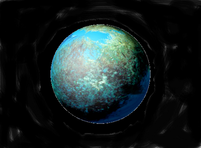 Planet sargasso.with space behindpng
