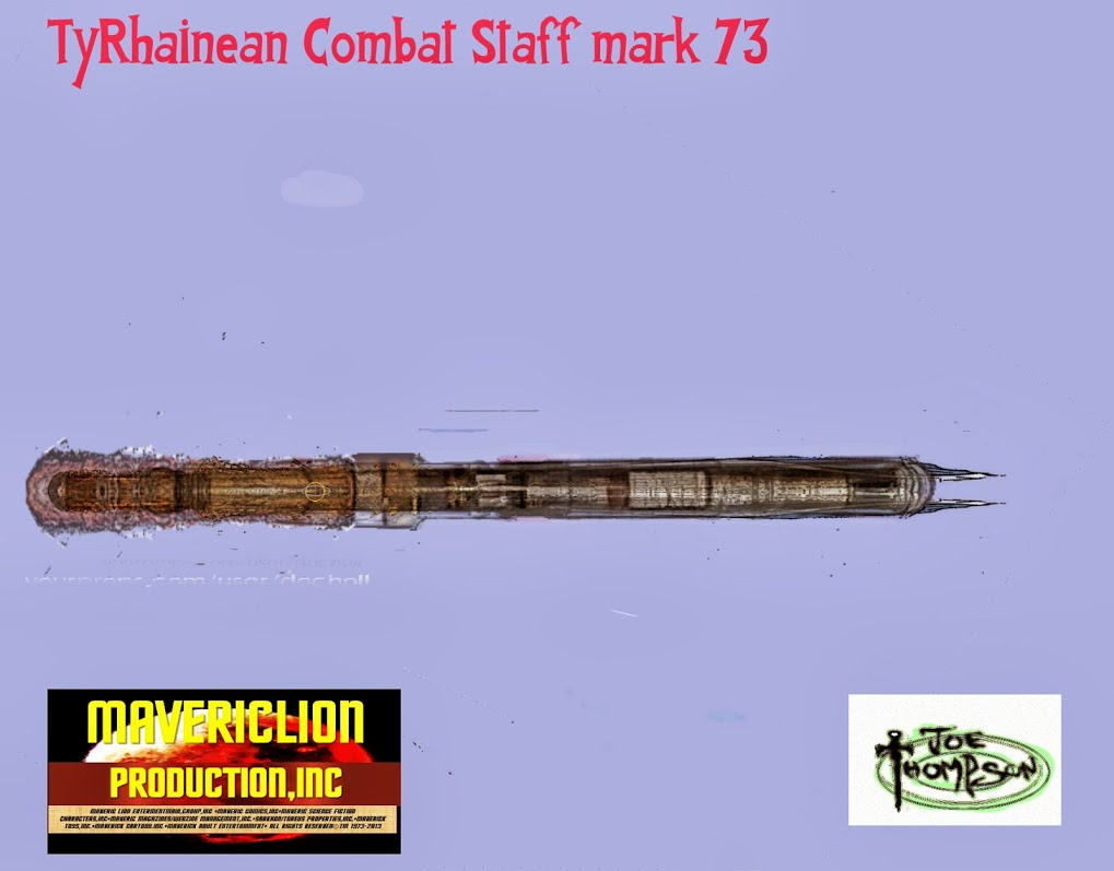 Tyrhainian-Combat Staff Weapon model-111 mark 73