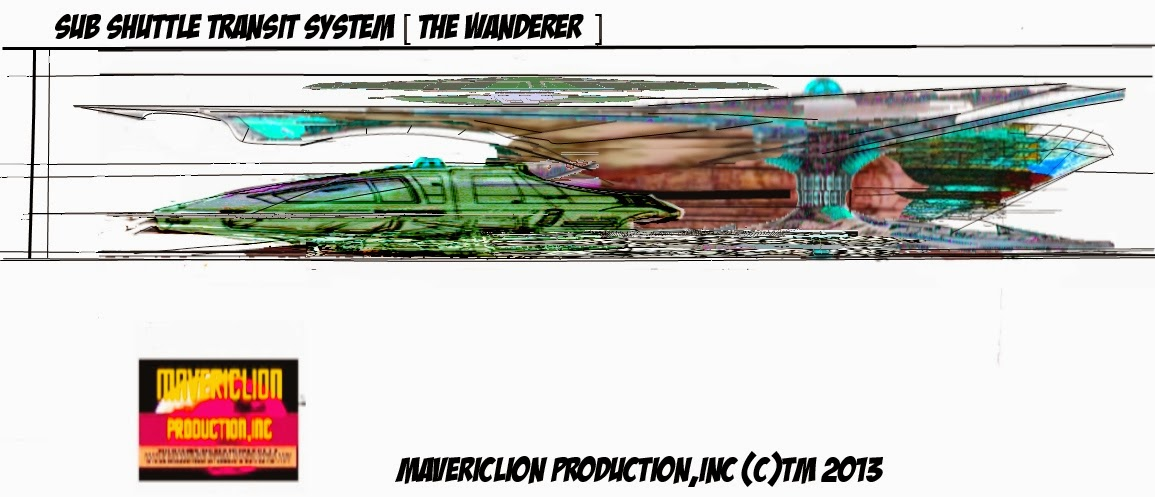 SUB SHUTTLE TRANSIT SYSTEM (THE WANDERER) 720
