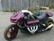 Russian ghost rider V8 bike 2