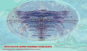 Star Castle Super Fortress Titan Class Bravestarr prototype 1a .