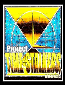 Project;Time Stalkers,Inc logo earth 1981